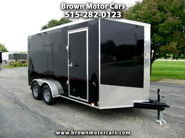 2019 Formula 31 PC Triumph 7x14 V-Nose Enclosed Trailer w/7ft Interio