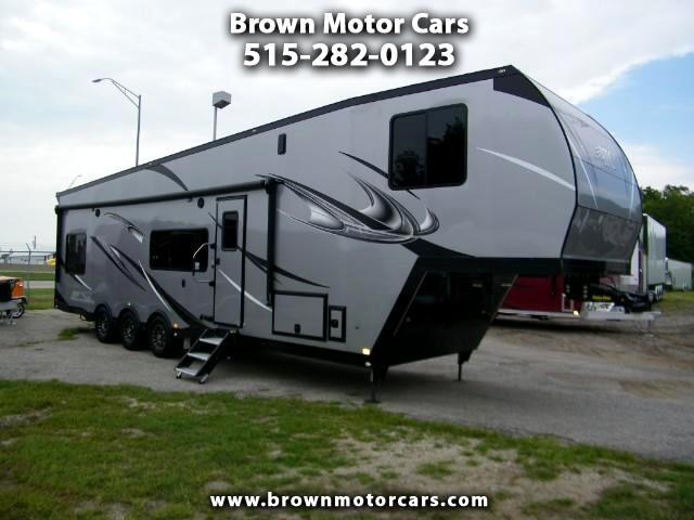 2019 ATC Custom 40ft All Aluminum 5th Wheel Toy Hauler