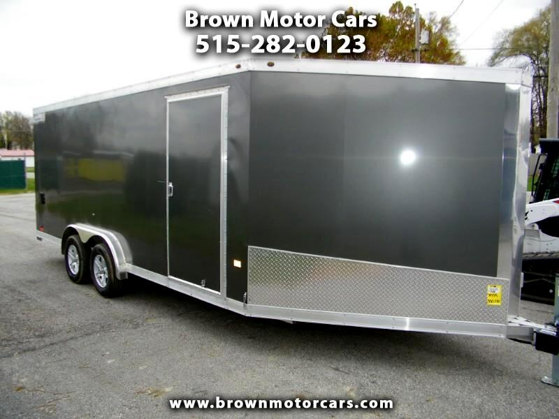 2019 Haulmark Enclosed Trailer HAS 7.5x24 Aluminum Enclosed Snowmobile Trailer