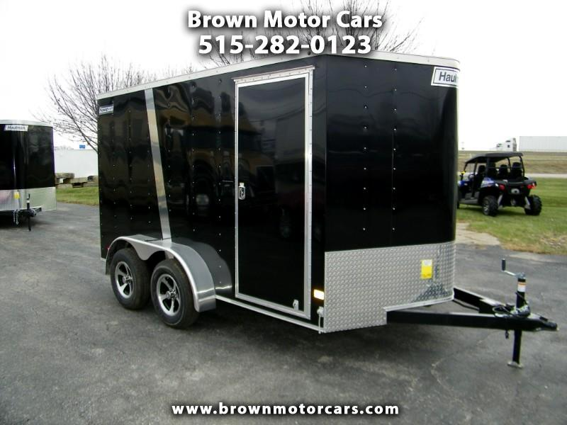 2019 Haulmark Passport 7x12 V-Nose w/Extra Height &Finished Int. Walls
