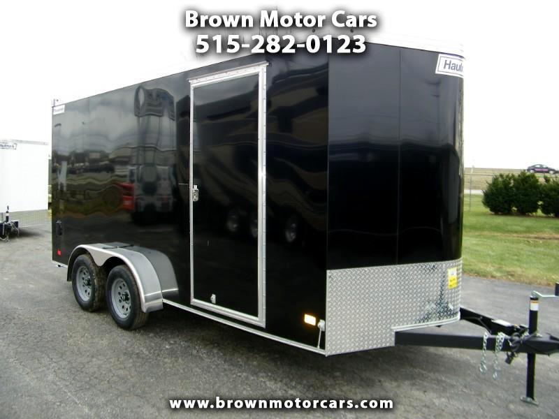2019 Haulmark Transport 7x16 V-Nose Enclosed Trailer