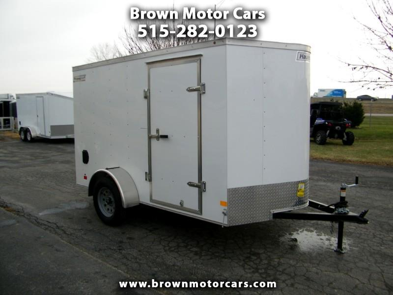 2019 Haulmark Passport 6x10 V-Nose Enclosed Trailer
