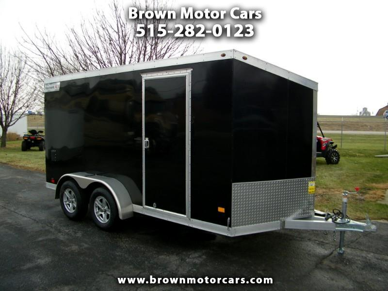 2019 Haulmark Enclosed Trailer HAUV 7x14 Aluminum Enclosed Trailer