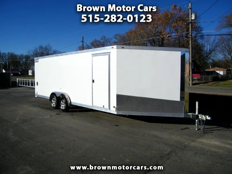 2019 Haulmark Enclosed Trailer HAS 7.5x28 Aluminum Snowmobile Trailer