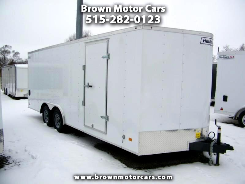 2019 Haulmark Passport 8.5x20 V-Nose Enclosed Trailer
