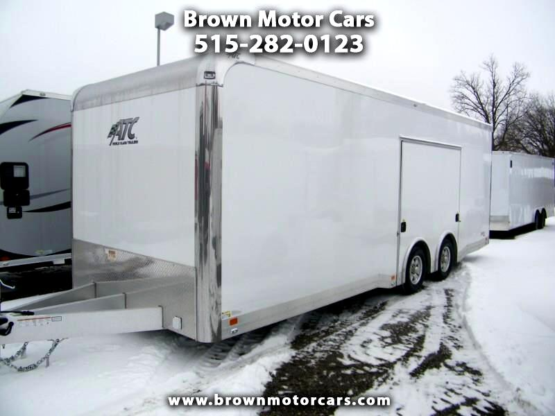 2019 ATC Quest 8.5x24 Aluminum Enclosed Car Hauler 305 Package