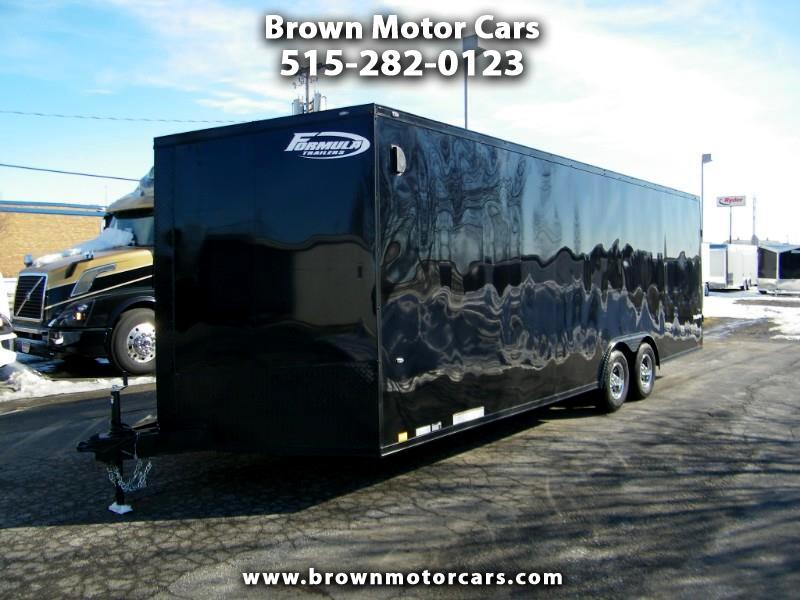2020 Formula 31 PC Triumph 8.5x24 Enclosed Trailer w/Blackout Pkg