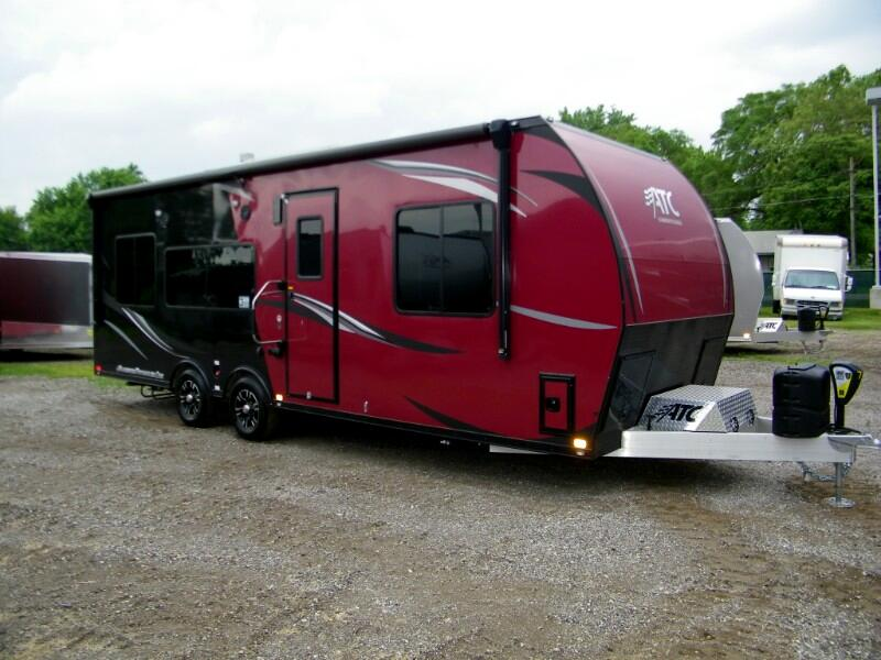 2019 ATC Custom 25ft Aluminum Front Bedroom Toy Hauler