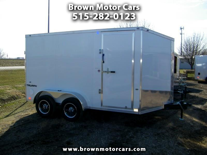 2020 Formula 31 PC Triumph 7x12 Tandem V-Nose Enclosed Trailer