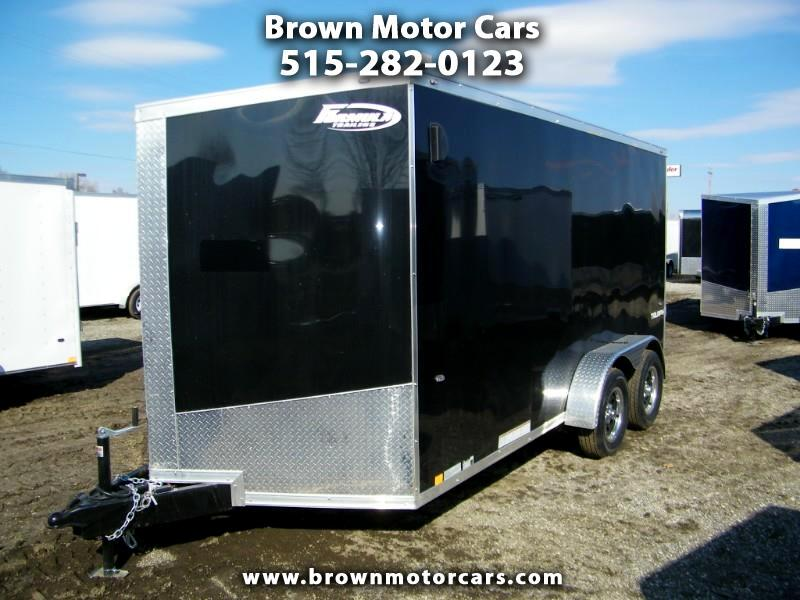 2020 Formula 31 PC Triumph 7x14 V-Nose Enclosed Trailer