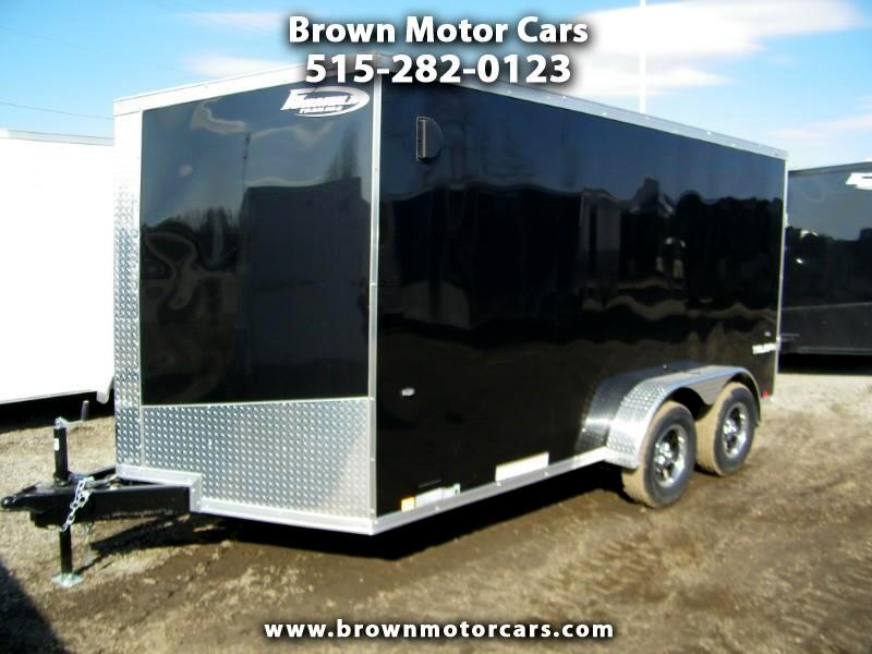 2020 Formula 31 PC Triumph 7x14 V-Nose Enclosed Cargo Trailer