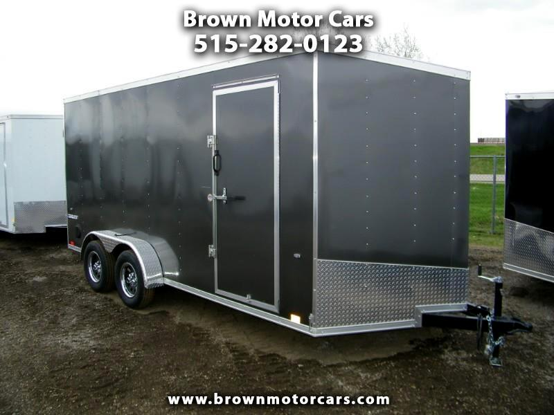 2020 Formula 31 PC Conquest 7x16 V-Nose Enclosed Trailer w/7ft Height