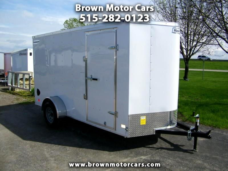 2019 Haulmark Passport 6x12 V-Nose Enclosed Trailer