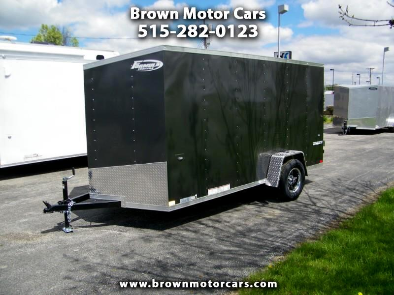 2020 Formula 31 PC Conquest 6x12 V-Nose Enclosed Trailer