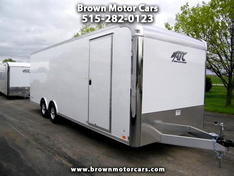 2020 ATC Raven 8.5x24 Aluminum Enclosed Car Hauler