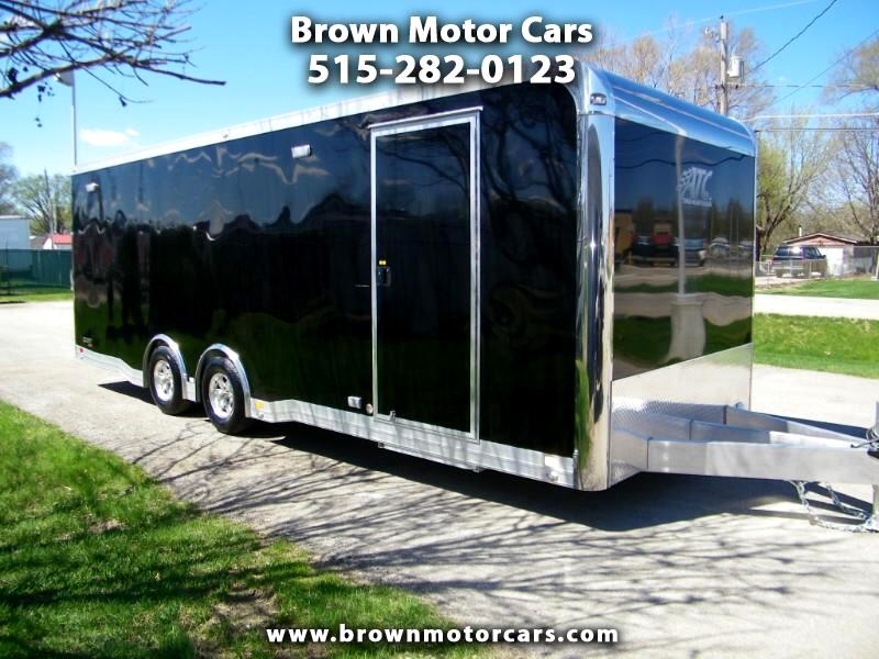 2020 ATC Quest 8.5x24 Aluminum Trailer w/305 Car Hauler Pkg and P