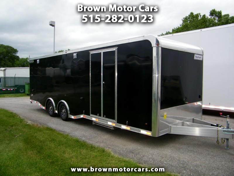 2019 Haulmark Enclosed Trailer HAR 8.5x28 Aluminum Enclosed Car Hauler