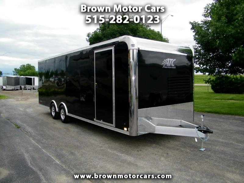 2020 ATC Raven 8.5x24 Aluminum Car Hauler with Premium Escape Doo