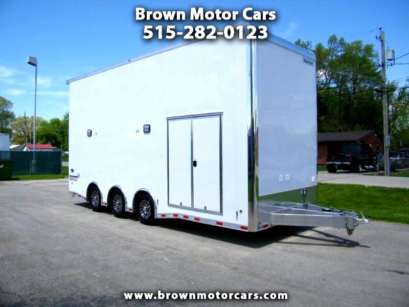 2019 Haulmark Enclosed Trailer HARS 8.5x24 Aluminum Stacker Trailer