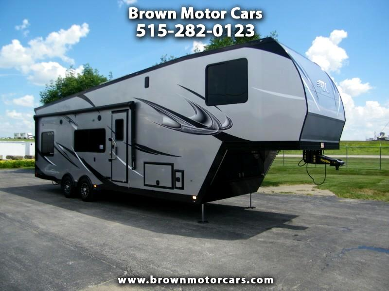 2020 ATC Custom 8.5x36 Aluminum 5th Wheel Toy Hauler