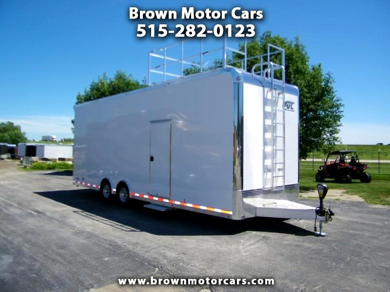 2020 ATC Quest Sprint Series 8.5x28 Aluminum Car Hauler
