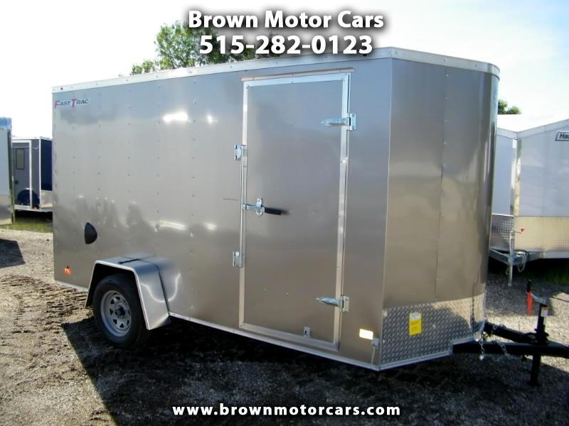 "2019 Wells Cargo Fast Trac 6x12 Enclosed Trailer 6"" Extra Height"