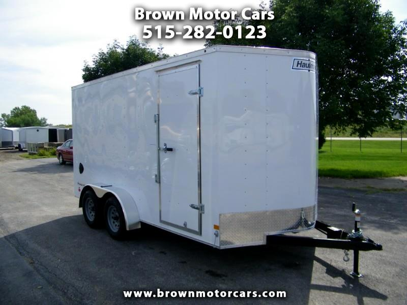 2020 Haulmark Passport 7x14 Enclosed Trailer w/7ft Int.Height