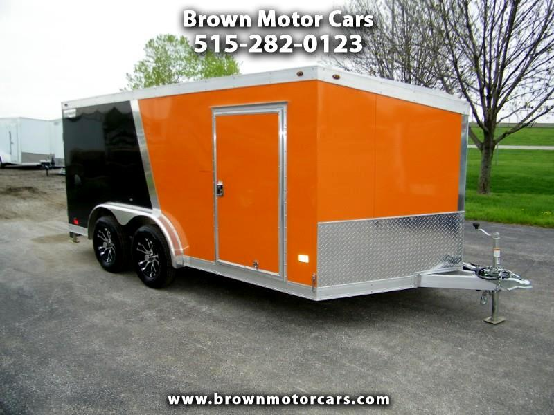 2019 Haulmark Enclosed Trailer HAMV 7.5x14 Aluminum Motorcycle Trailer