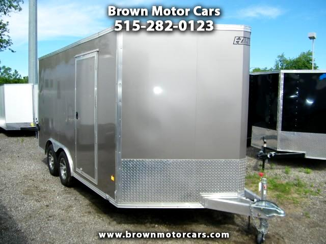 2017 Mission Enclosed Cargo Trailer EZ Hauler 85x14 Aluminum Enclosed Trailer Extra He