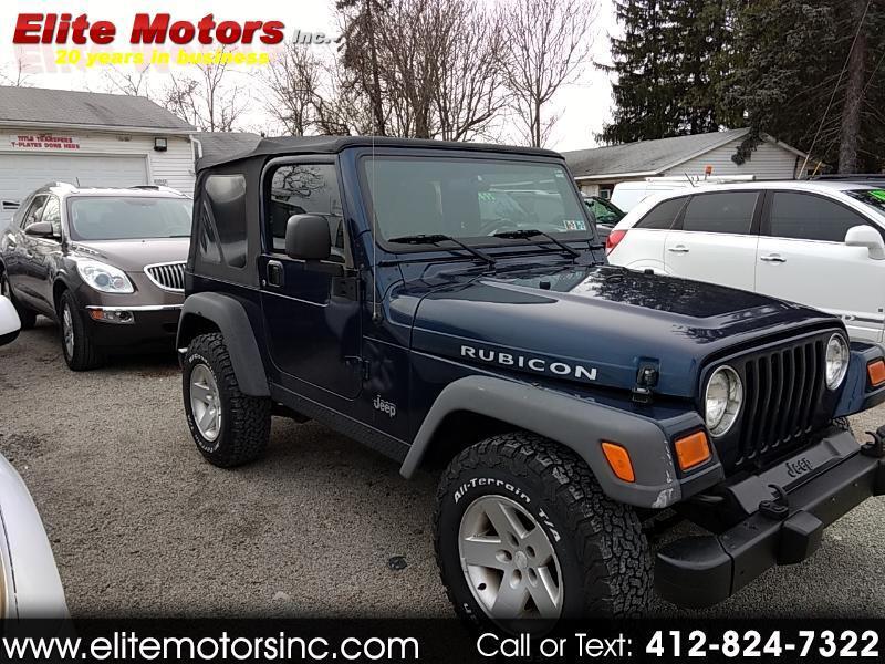 2005 Jeep Wrangler Rubicon 4x4
