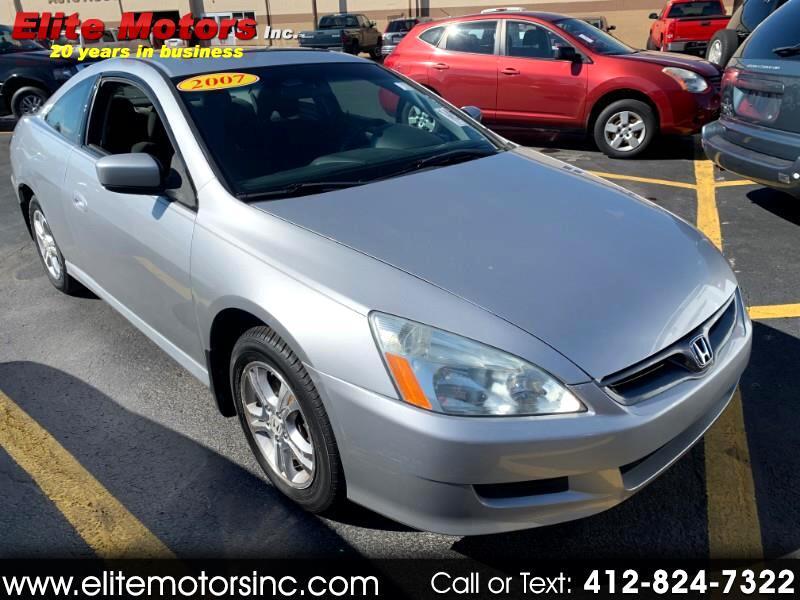 2007 Honda Accord LX coupe AT