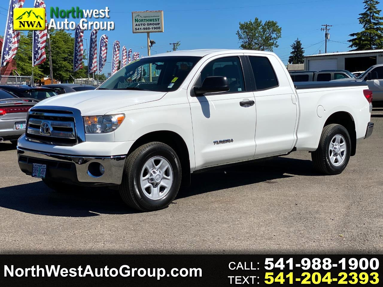 Toyota Tundra 2WD Truck Double Cab 4.6L V8 6-Spd AT  (Natl) 2012