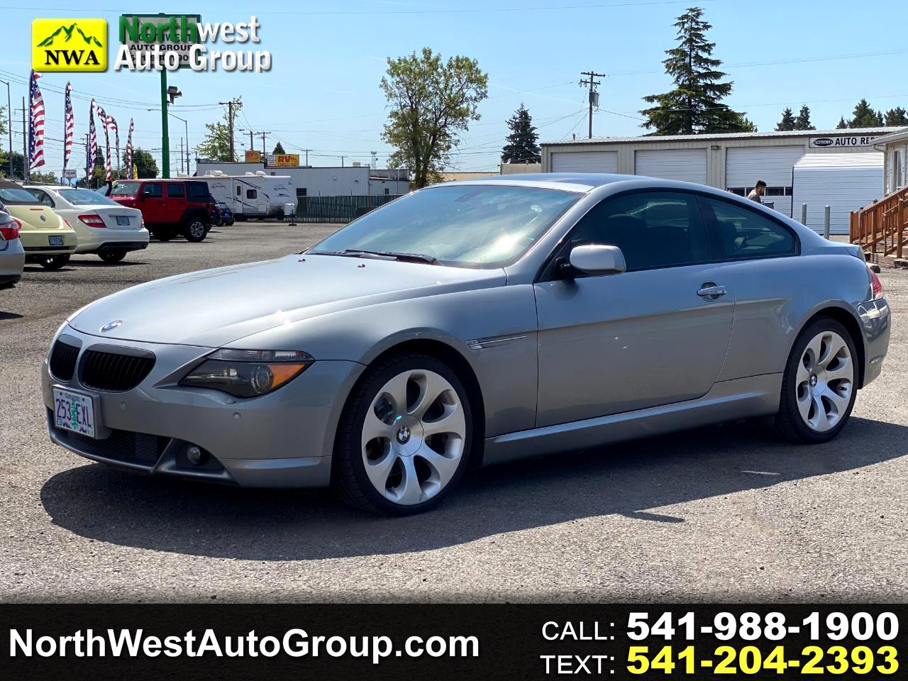 BMW 6 Series 2dr Cpe 650i 2007