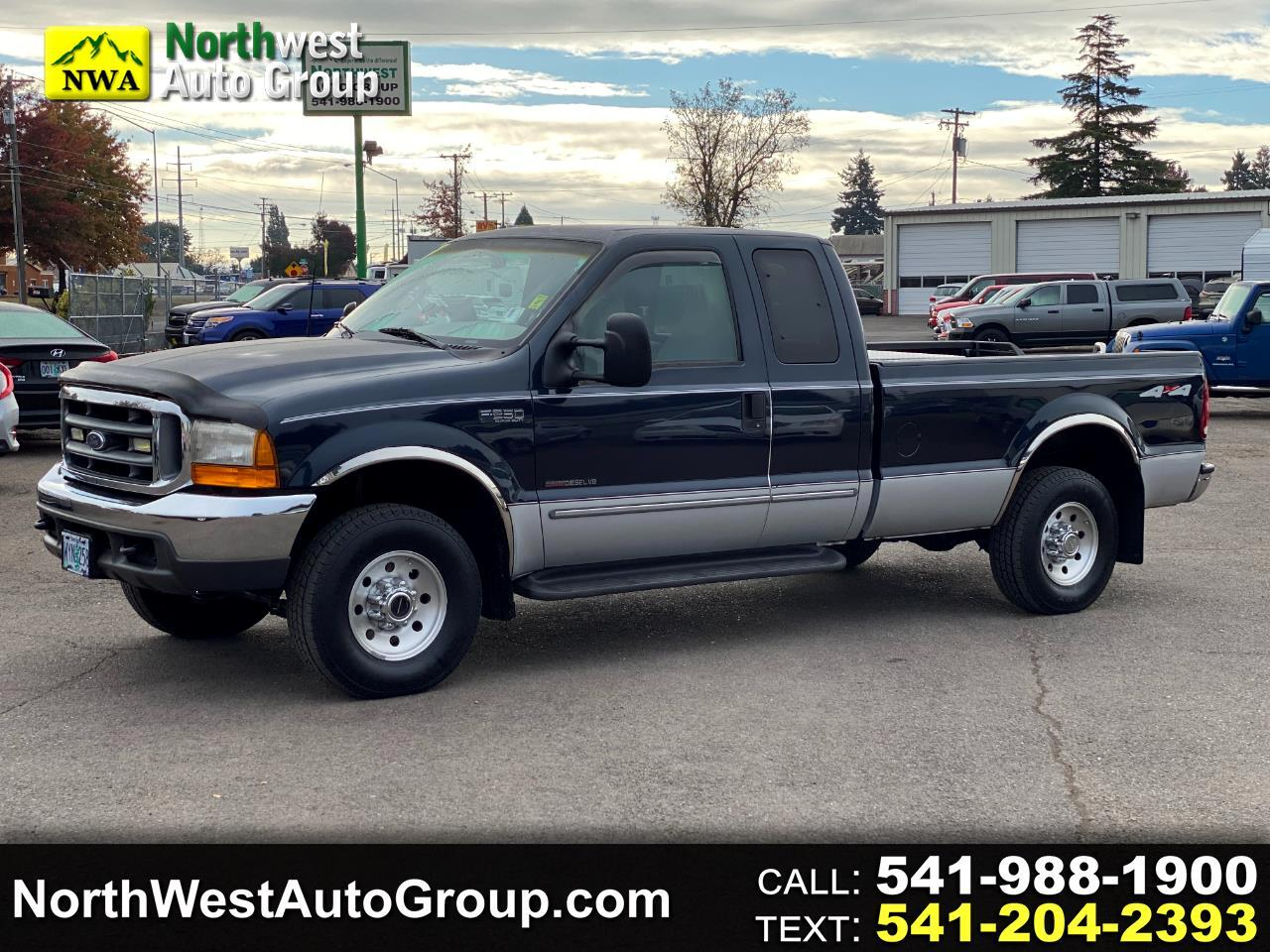 "Ford Super Duty F-250 4WD SuperCab 158"" XLT 1999"