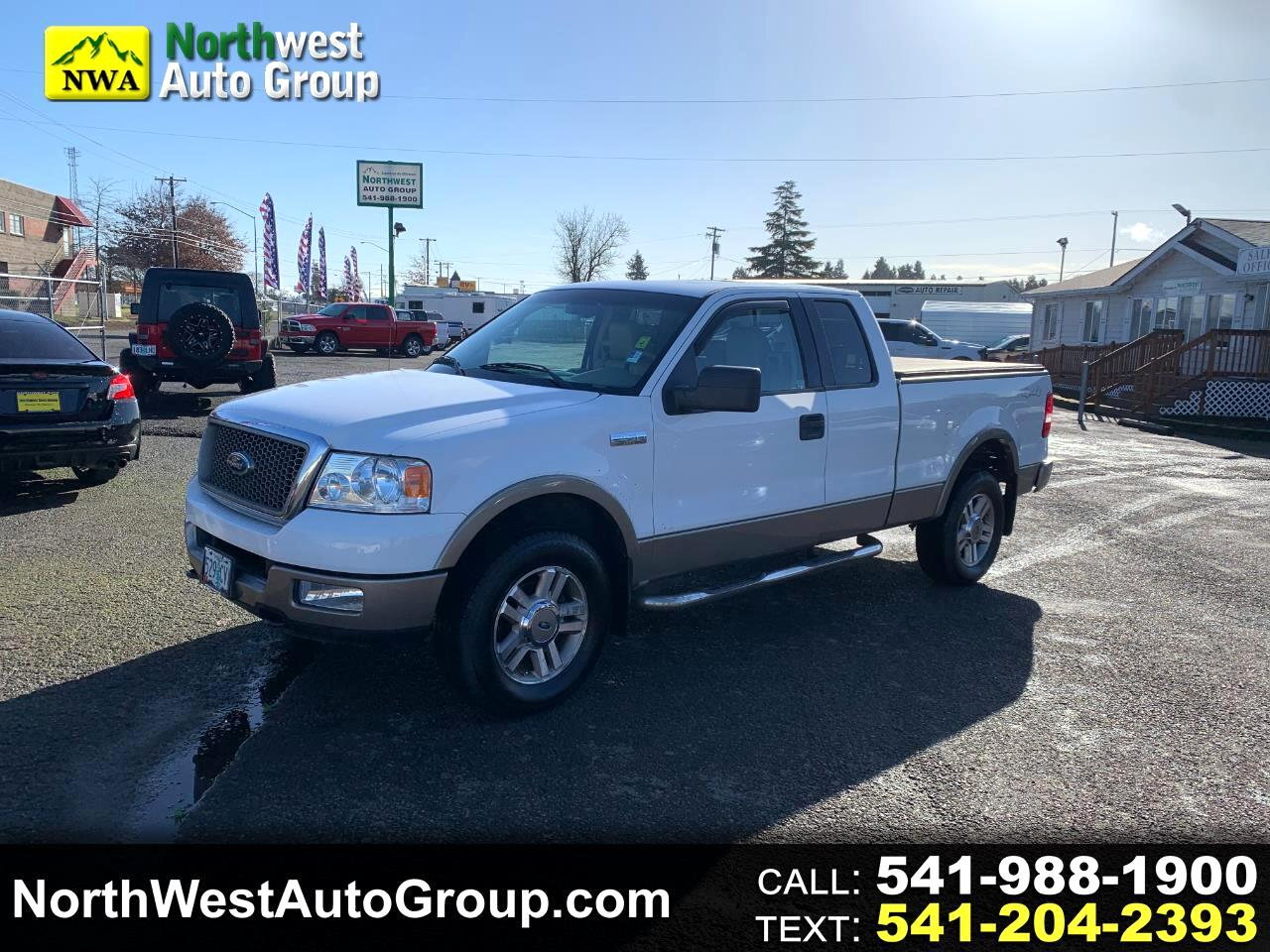 "Ford F-150 Supercab 145"" Lariat 4WD 2005"