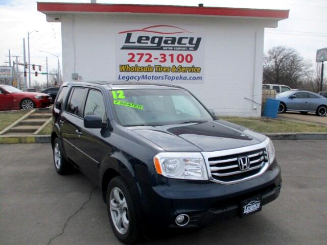 2012 Honda Pilot EX-L 4WD 5-Spd AT with Navigation
