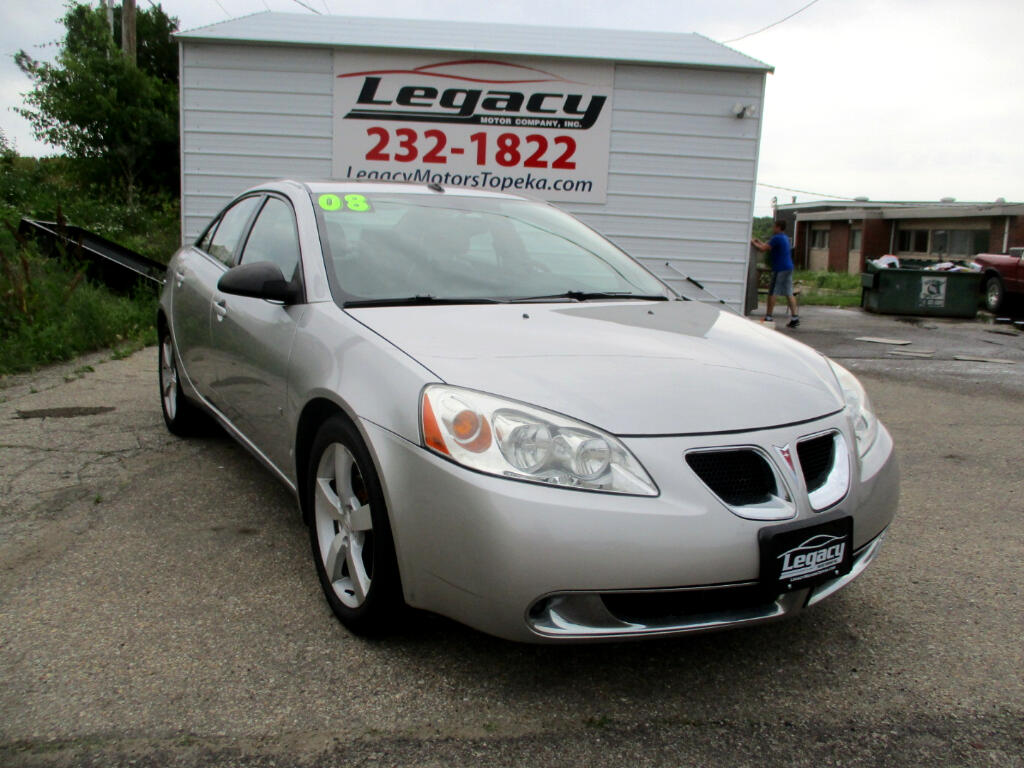 Used 2008 Pontiac G6 4dr Sdn Gt For Sale In Kansas City