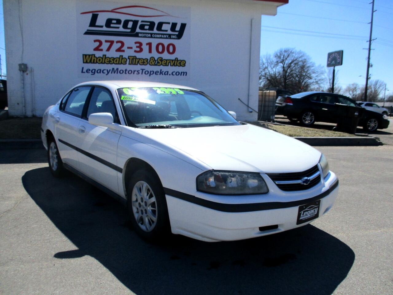 2002 Chevrolet Impala 4dr Sdn
