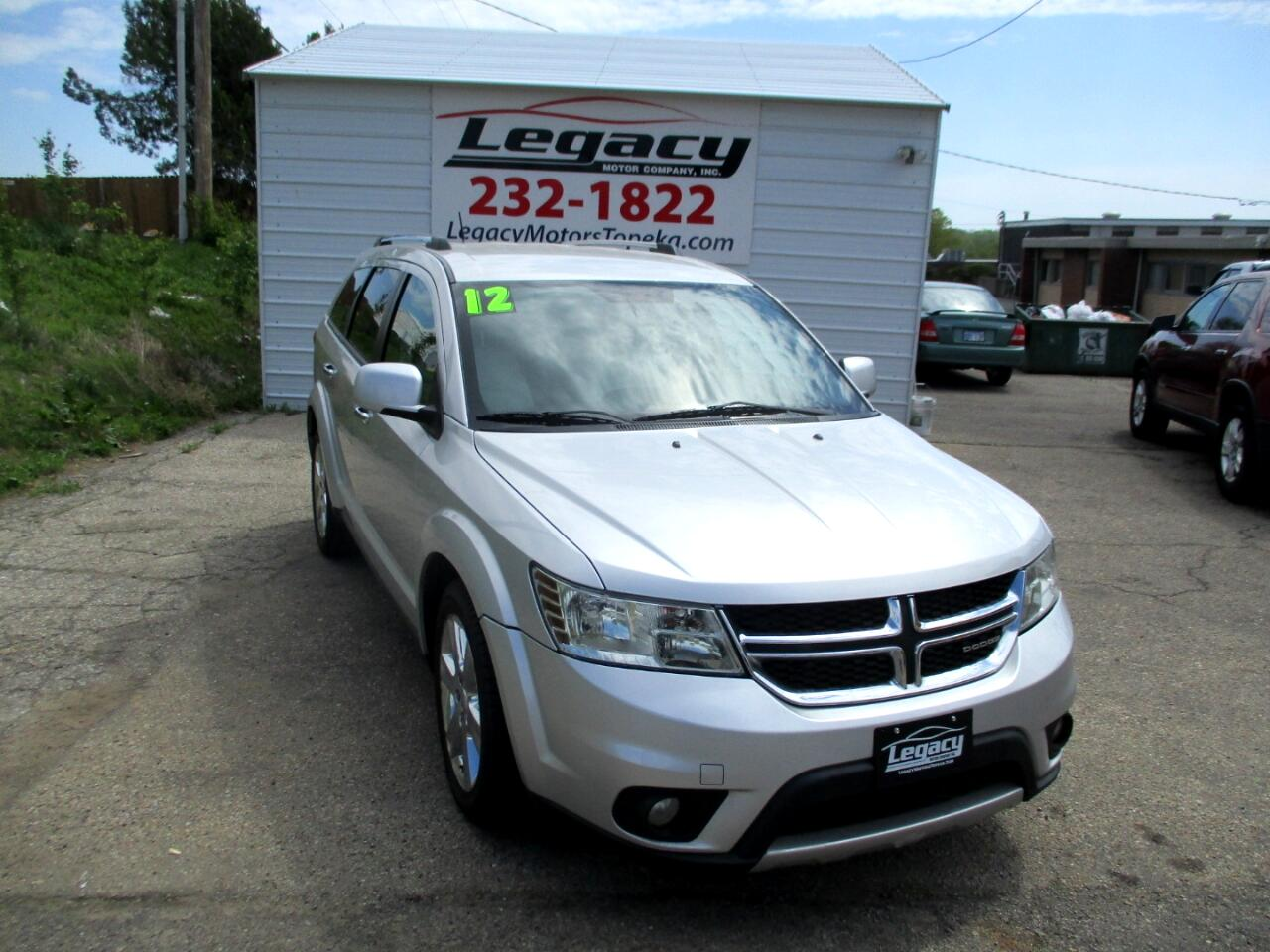 2012 Dodge Journey AWD 4dr Crew