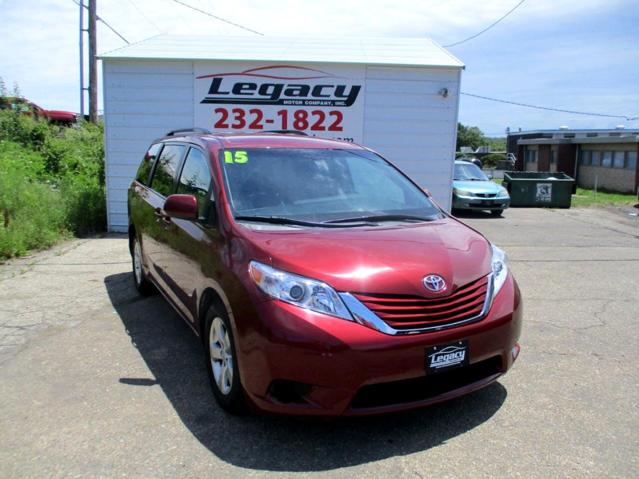 2015 Toyota Sienna 5dr 7-Pass Van LE AAS FWD (Natl)