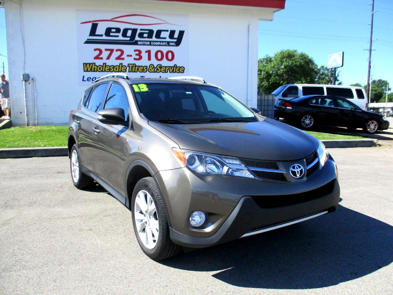 2013 Toyota RAV4 AWD 4dr Limited (Natl)