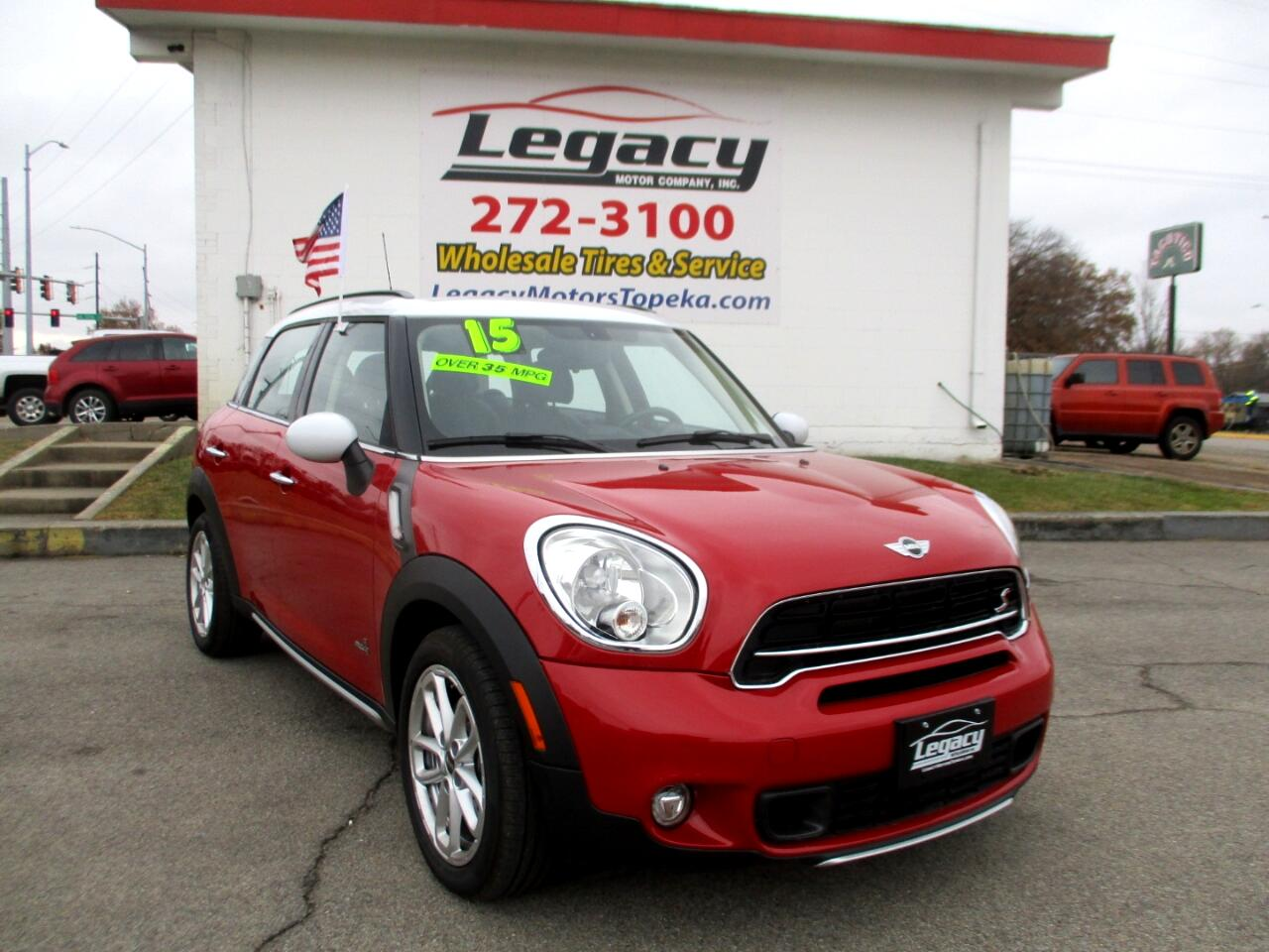 2015 MINI Cooper Countryman ALL4 4dr S