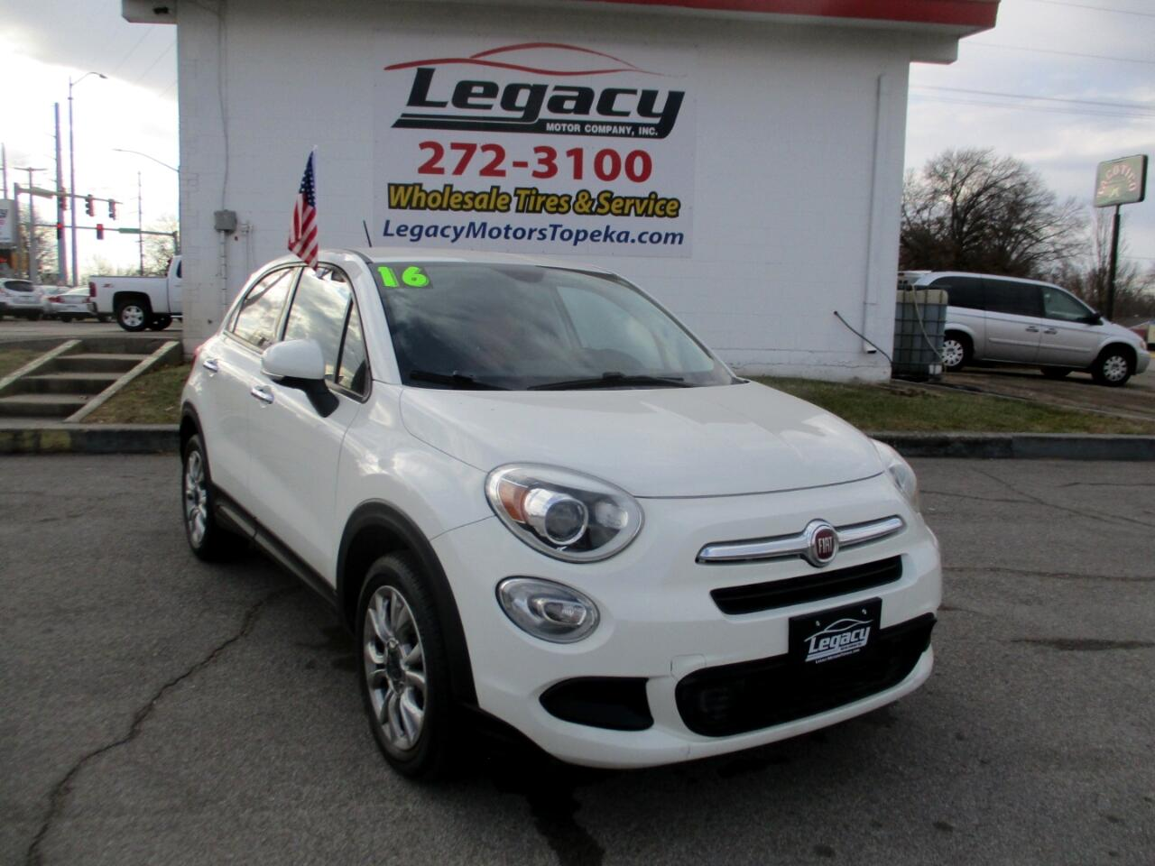 Fiat 500x FWD 4dr Easy 2016