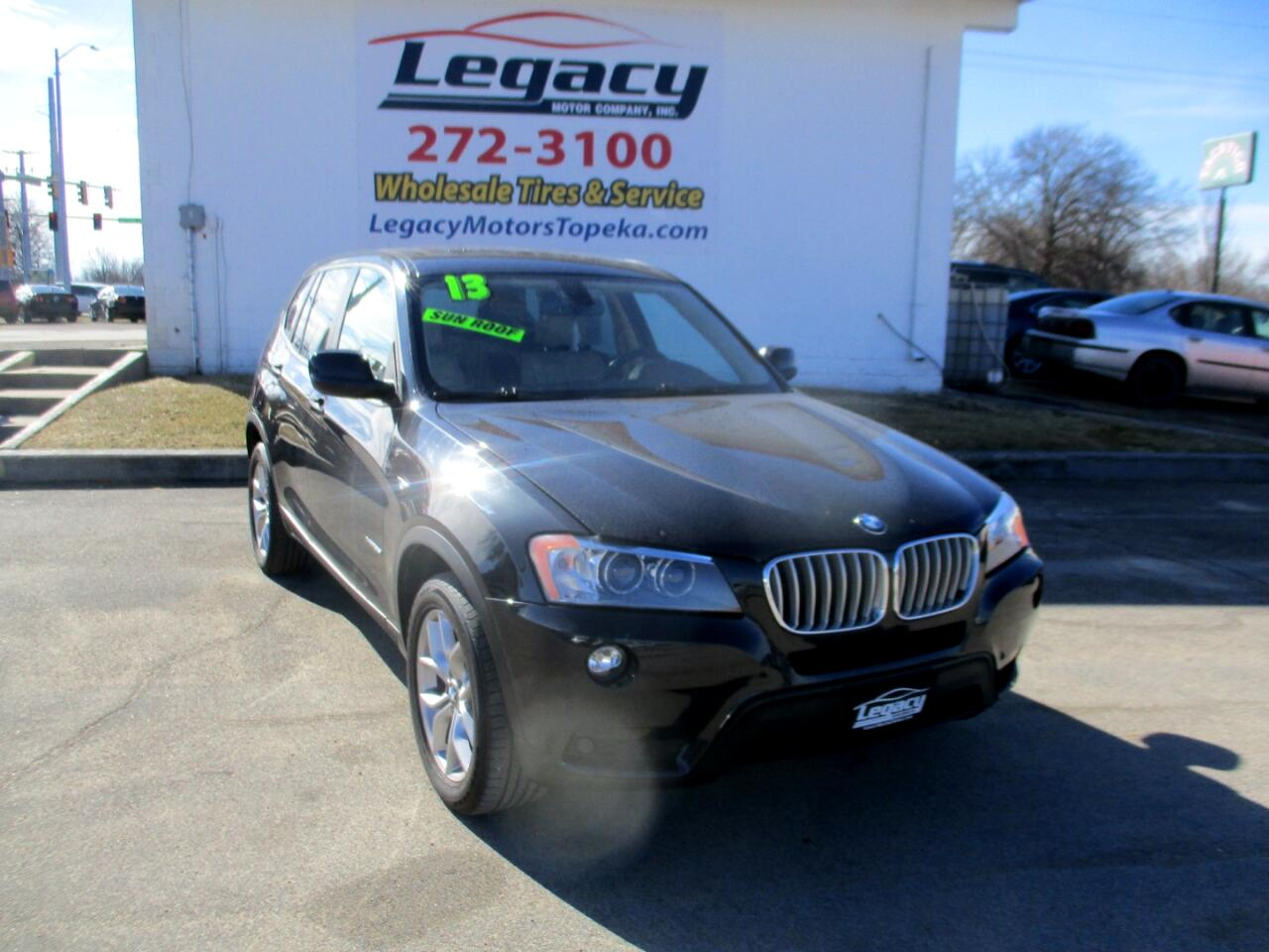 BMW X3 AWD 4dr xDrive35i 2013
