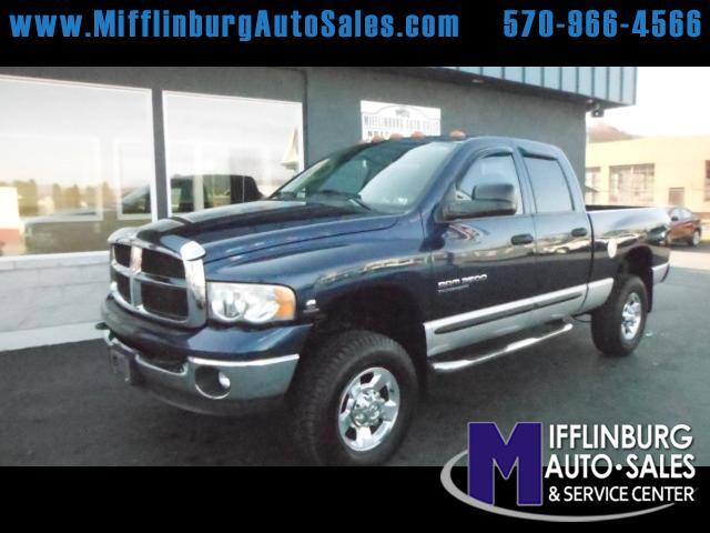 2005 Dodge Ram 3500 SLT Quad Cab Short Bed 4WD