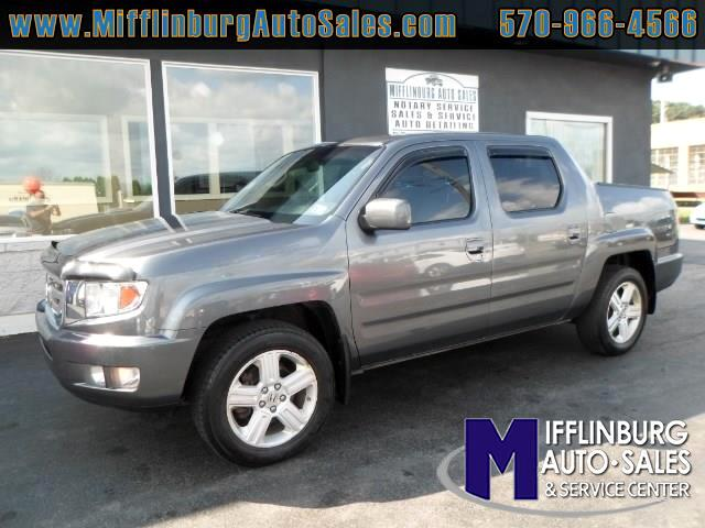used 2011 honda ridgeline 4wd crew cab rtl w leather for sale in mifflinburg pa 17844. Black Bedroom Furniture Sets. Home Design Ideas