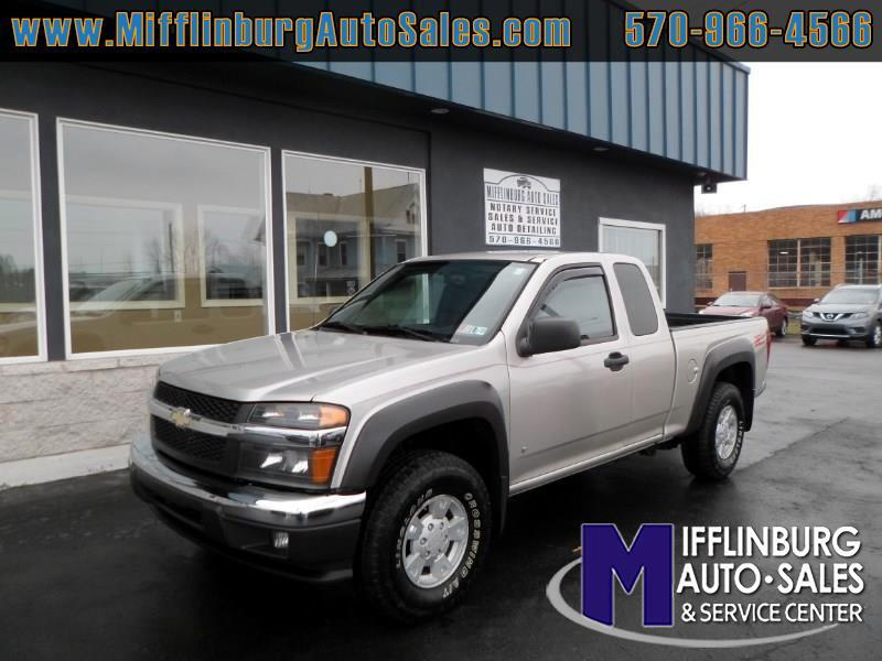 2007 Chevrolet Colorado 4WD Ext Cab 128.3