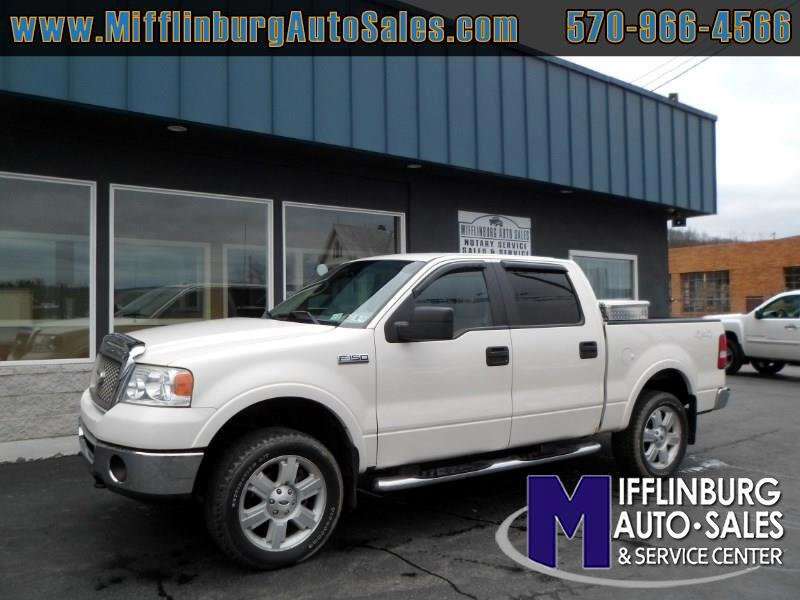 "2007 Ford F-150 SuperCrew 139"" Lariat 4WD"