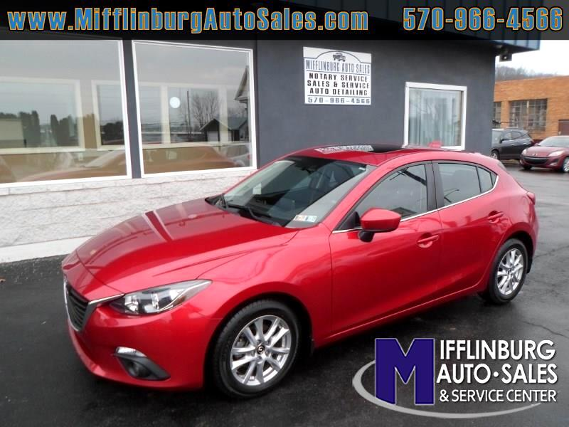 2015 Mazda MAZDA3 5dr HB Man i Grand Touring