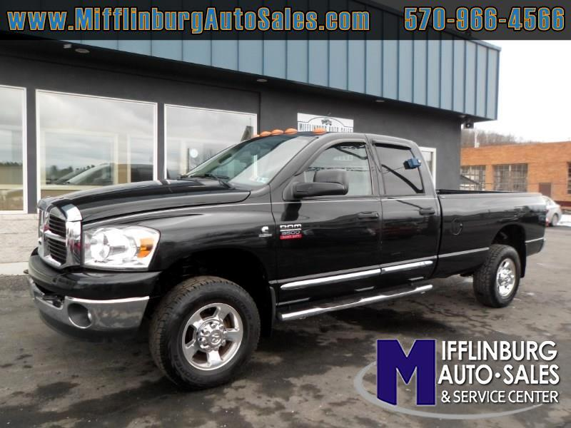 2008 Dodge Ram 3500 Quad Cab Long Bed 4WD